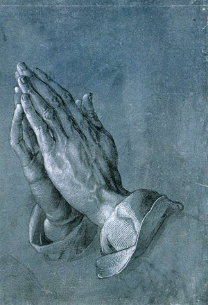 Albrecht Durer,  Praying Hands, pen and ink drawing (c. 1508)
