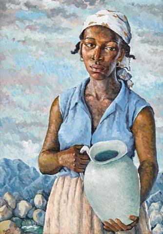 The Water Carrier, Albert Huie