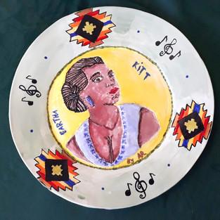 Eartha Kitt IWD Plate