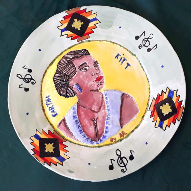 Eartha Kitt IWD Plate