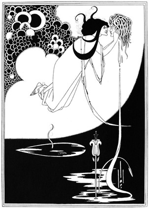The Climax from the illustrations for Salomé, 1893–4. Aubrey Beardsley