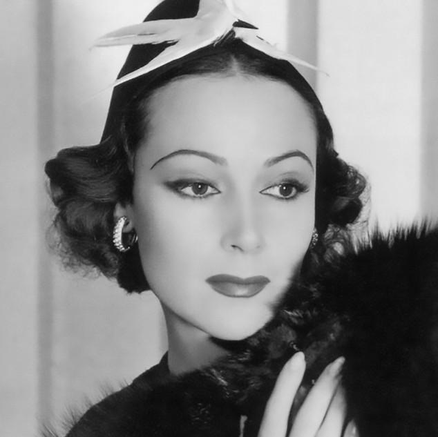 Dolores del Río Mexican Actress-1933.