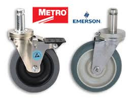 METRO WIRE SHELVING CASTERS & RACK WHEELS