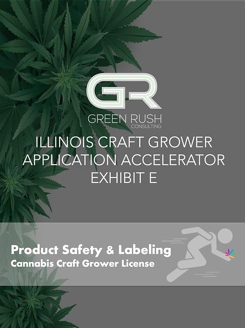 Illinois Craft Grower Application Accelerator Exhibit E