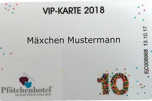 VIP 100 Karte 2019 ( A = mit anderen Hunden verträglich )