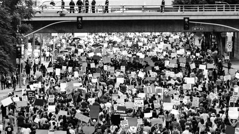 השתתפות בהפגנות