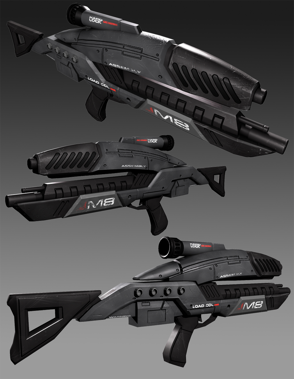 M8 Avenger Mass Effect Fan Art