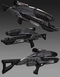 M8 Avenger Mass Effect Fan Art