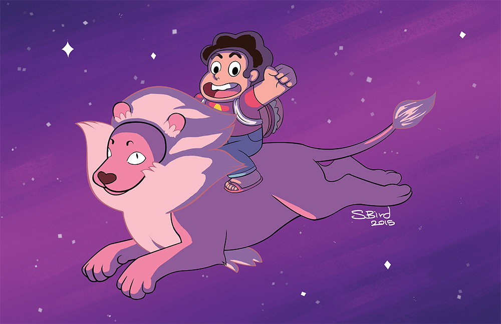 Steven and His Lion