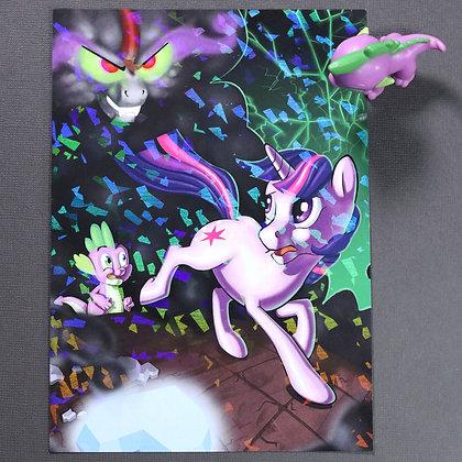 "5x7"" Holo Print - Twilight vs Lord Sombra"