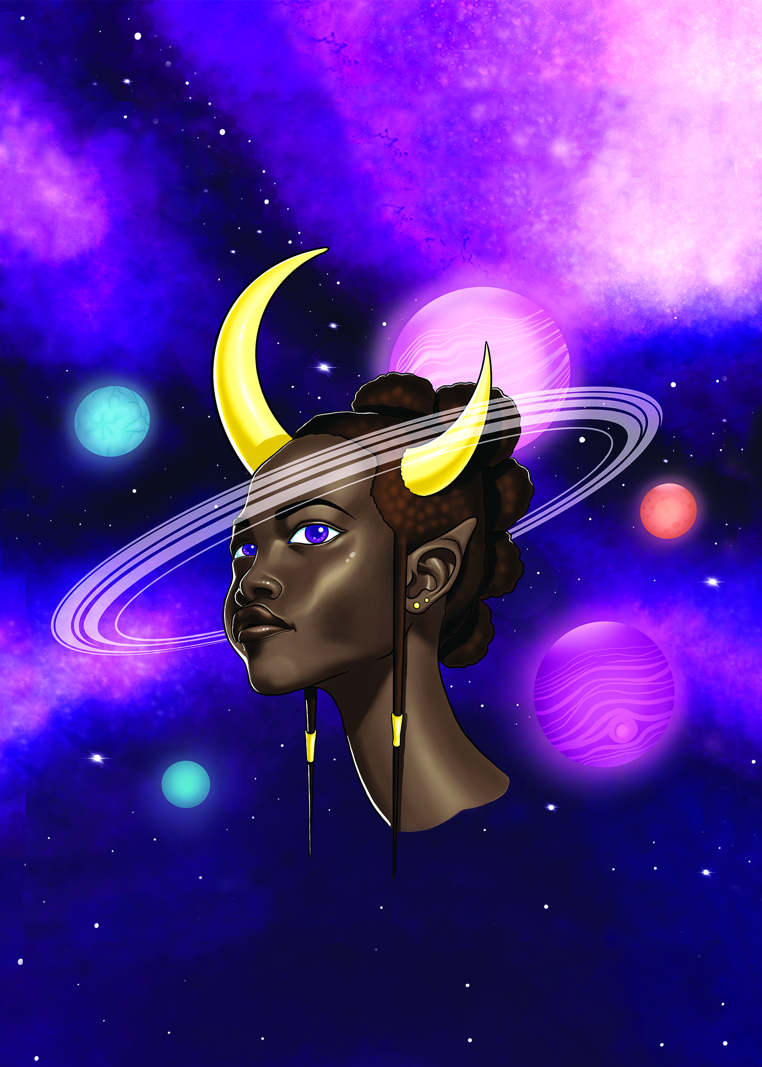 Demoness of Planets & Stars