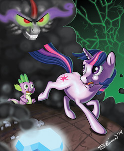 MLP:FiM - Twilight vs Sombra