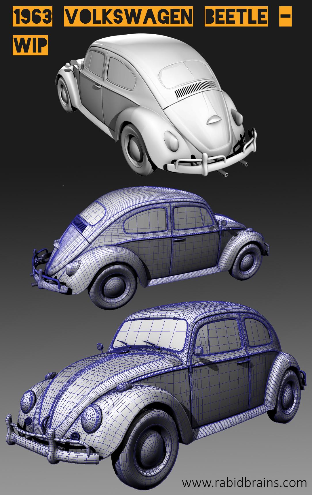 VW Beetle wip