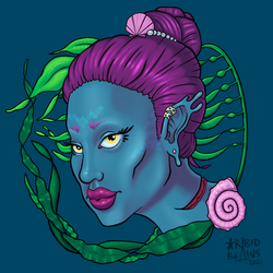 Mermaidbust