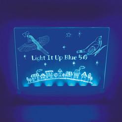 茅野市民館 アートワークショップ「地域に広がれ!ブルーライト」
