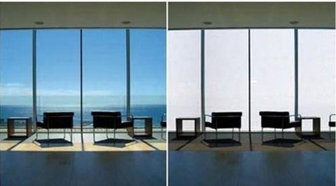 Película inteligente para vidrios