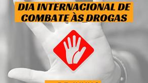 Dia Internacional de Combate às Droga Fazer Mais com Menos na Crise