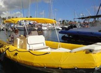 Location de bateau semi-rigide 10 places 345€
