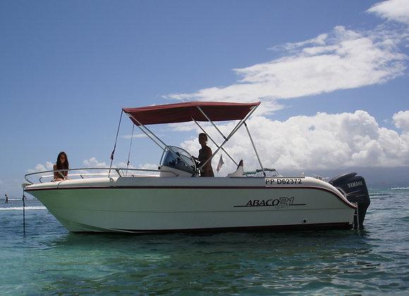 Location de bateau en semaine 8 places 240€