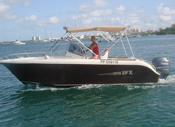 Location de bateau le WE 7 places 220€