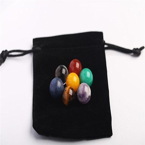 7pcs/Set Chakra  Reiki Gemstones