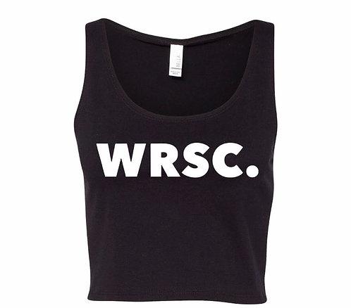 WRSC. Logo Crop Top
