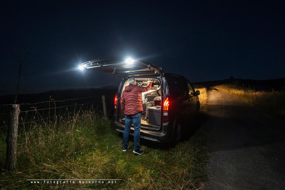 Salida de fotografía nocturna y a dormir en la localizaciòn (Julio 2020)