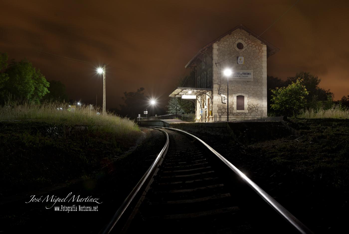 Estación de Villaverde de Pontones