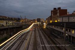 Estacion de tren de Santander por fotografianocturna.net