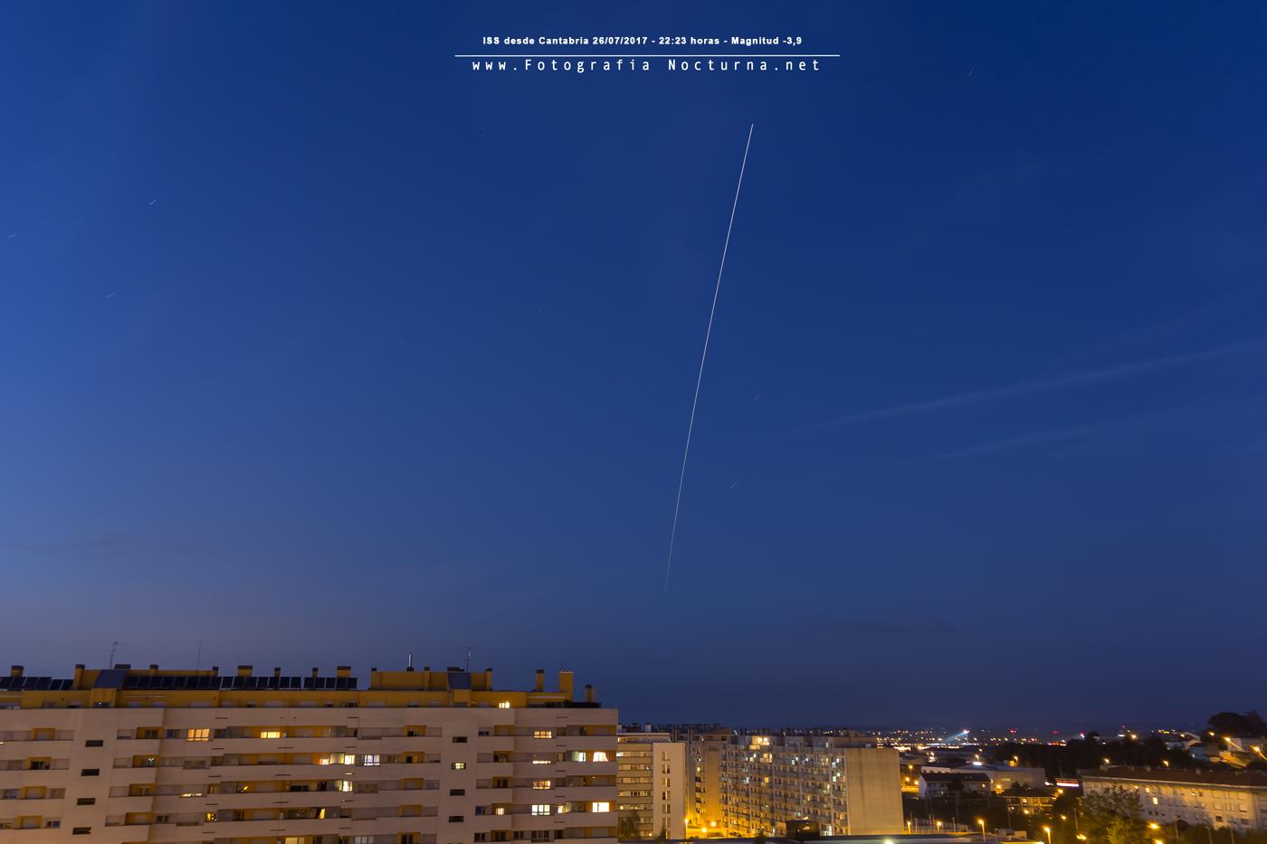 ISS desde Muriedas