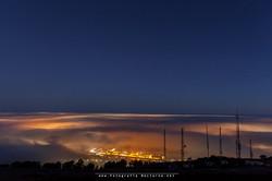 Niebla desde Peña Cabarga