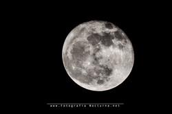 Tránsito ISS por la luna