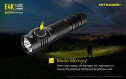 Nitecore E4K 4400 lumens