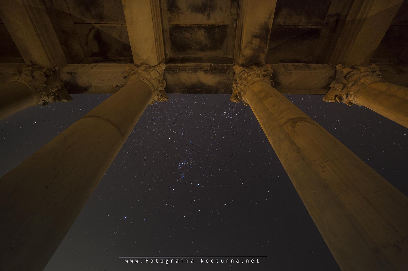 La constelación de Orion
