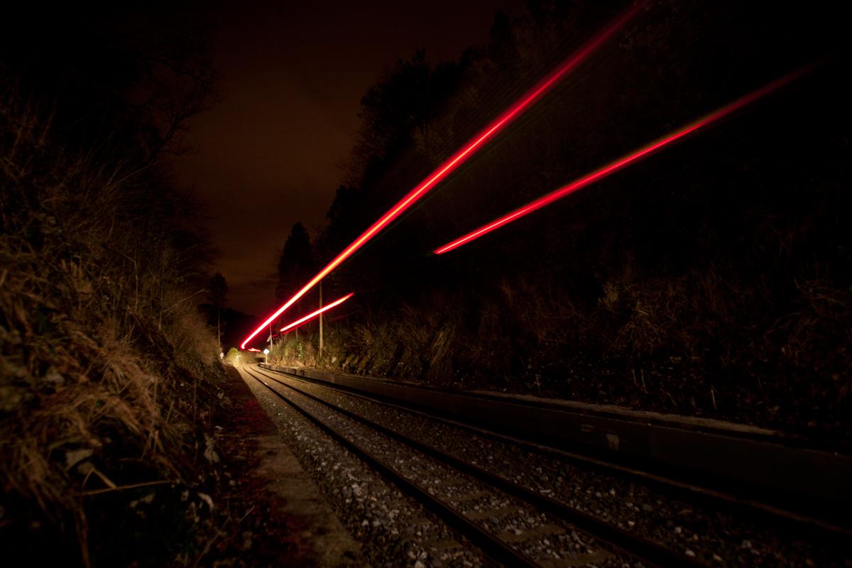 Trazas de tren