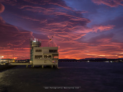 Amanecer viento Sur (Santander)