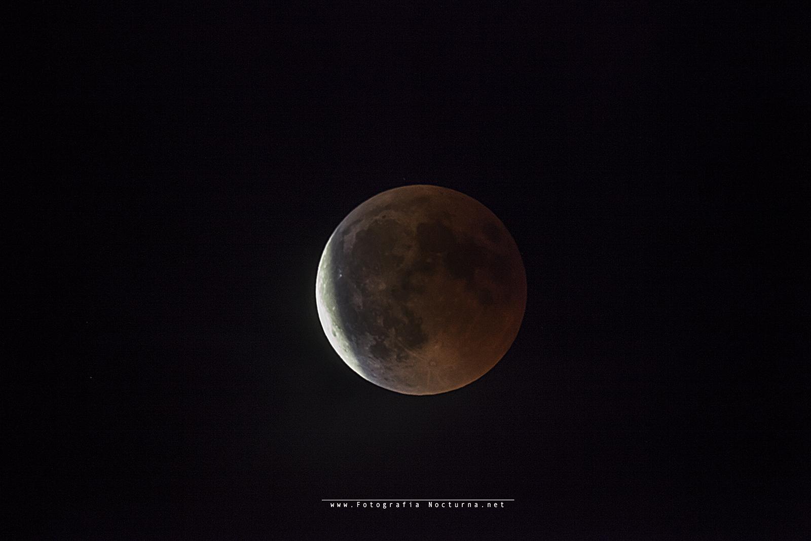 Eclipse de luna 27/julio/2018