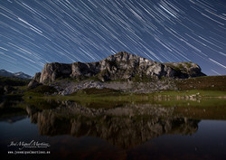 Ecuador celeste Lagos de Covadonga
