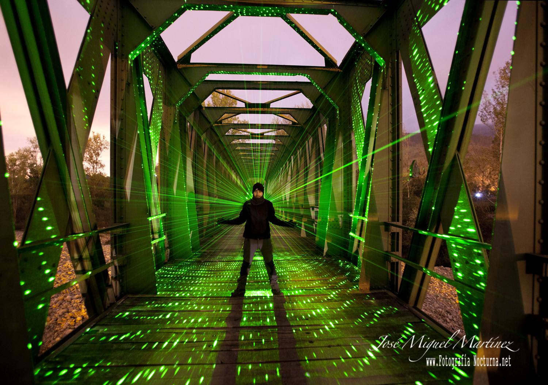 Láser verde