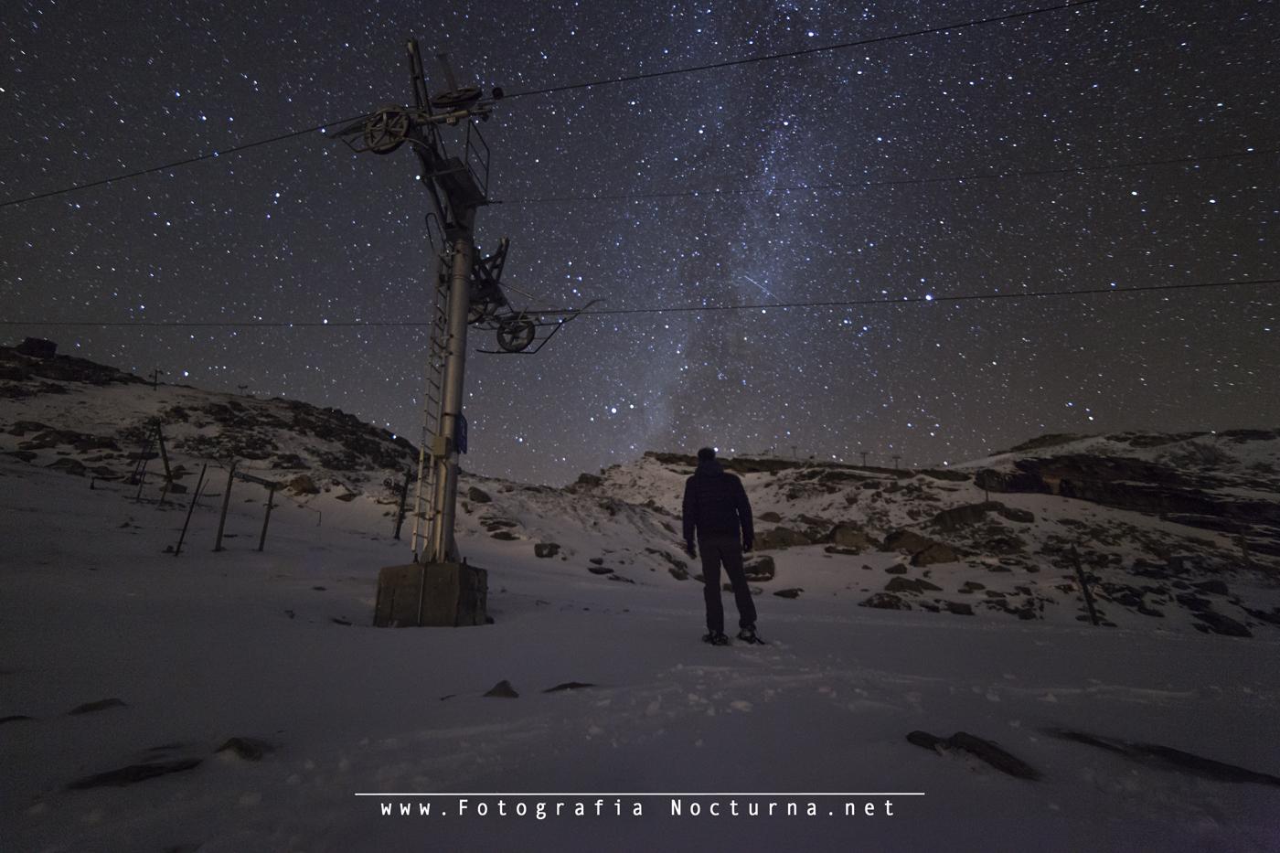 Fotografía nocturna en Alto Campoo