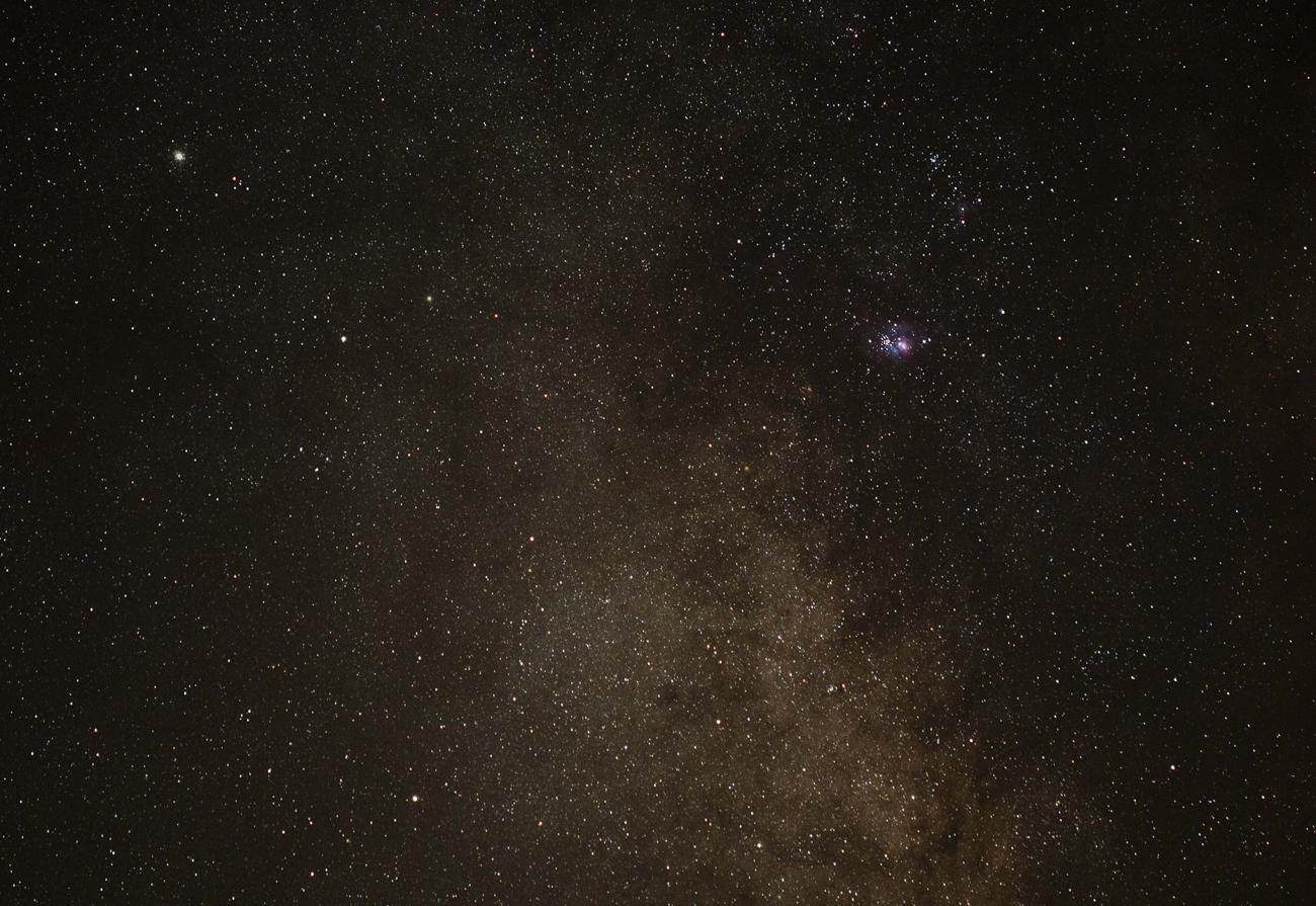 Nebulosas de la Laguna y Trífida