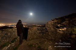 Spica, Luna y Marte desde la Picota