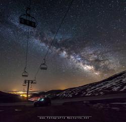 Vía Láctea desde AltoCampoo