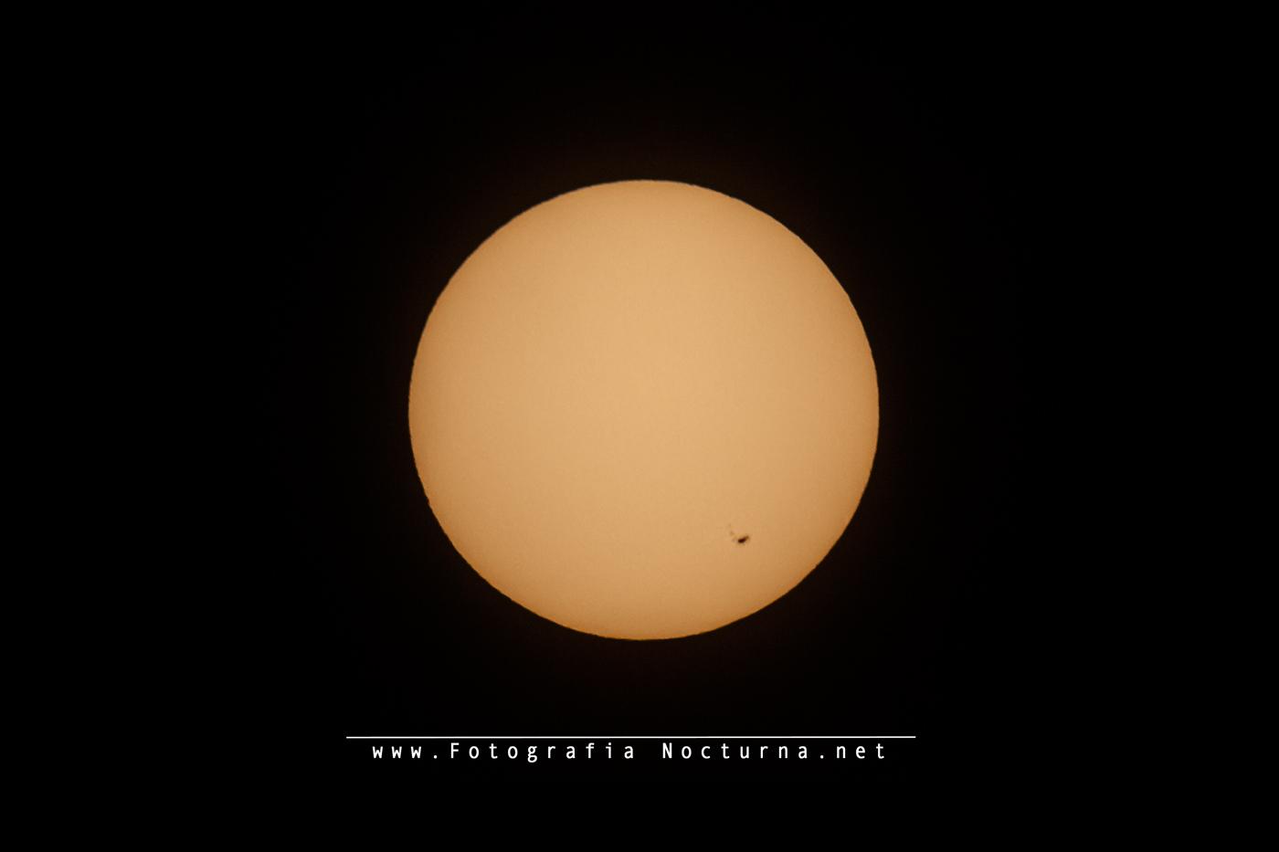 Mancha solar AR 2665