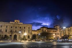 Tormenta Plaza Alfonso XIII