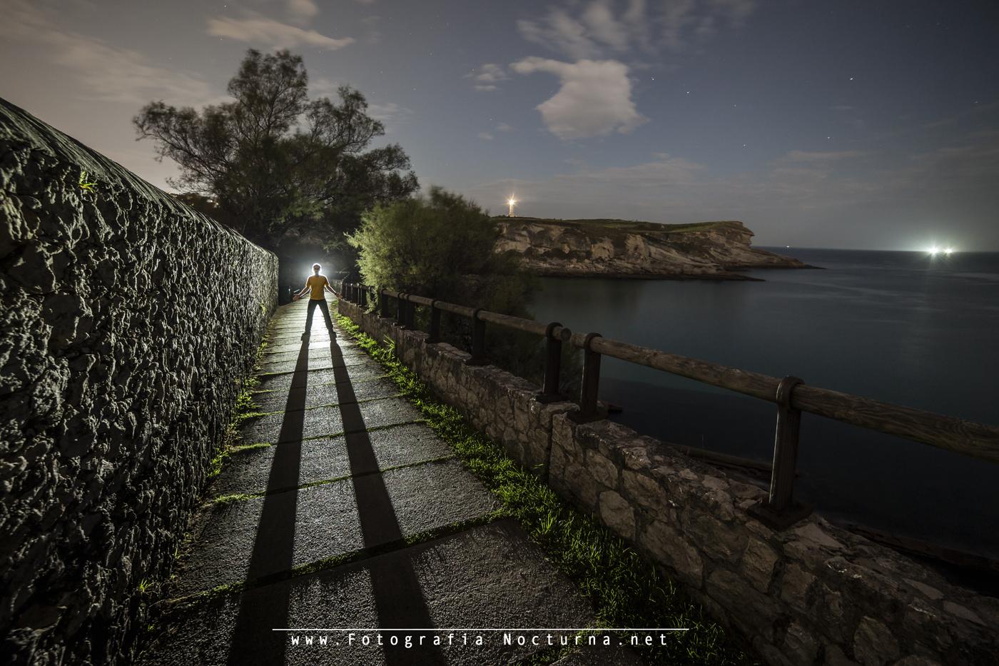 Paseo de Mataleñas (Santander) Spain