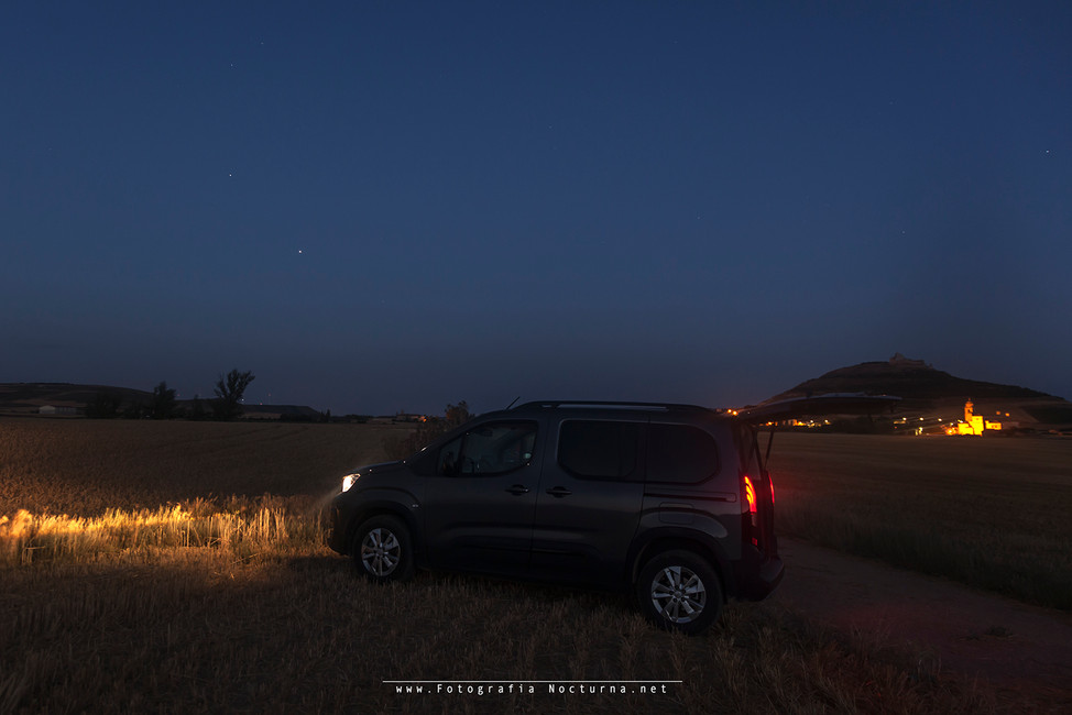 Salida a fotografiar el cometa C/2020 F3 NEOWISE y dormir en la localización (Julio 2020)