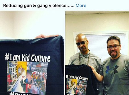 Selling shirts to reduce gun violence