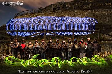 Taller fotografia nocturna en Cantabria