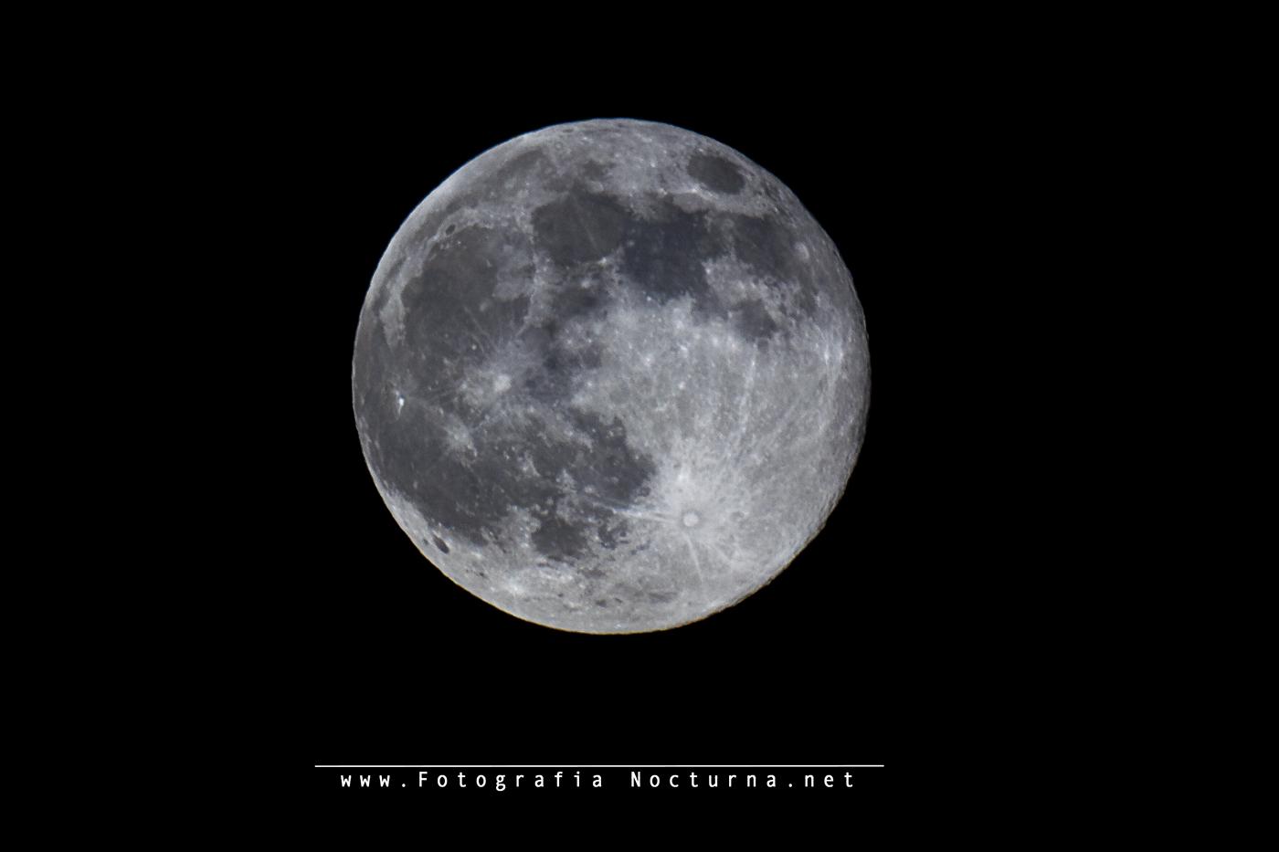 Luna llena de Junio 2017